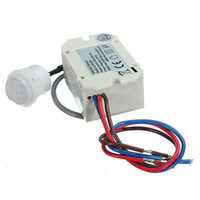 automotive temperature switch - High Quality Mini PIR Motion Sensor Detector for V DC Timer Relay Automotive Caravan Alarm