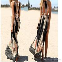 adult european - 2016 European Summer Suit dress Sandy Beach Flower Colour Printing Dress