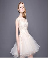 Wholesale Short Feather Prom Dress Cheap - Prom Dresses Online A-Line Short Sleeveless Celebrity Dresses Jewel Graceful Ball Gowns Cheap Cocktail Dresses 2017