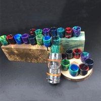 Wholesale Vape resin drip tip for Smok TFV8 Tank ml TFV8 Cloud Beast Tank With V8 T8 V8 Q4 Coils Best e cigarettes drip tip
