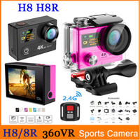Wholesale Ultra HD K EKEN H8R WIFI Action Camera P FPS G Remote Control Sports Camera VR Mini Camcorders quot LCD Video Helmet Cam