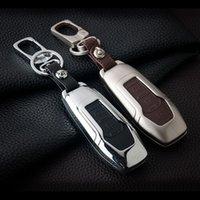 Wholesale Car Stying Accessories Car Key Case Fit For Focus Mondeo Kuga Eco Sport Edge Fiesta Explorer key Holder