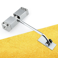 Wholesale Simple Household Small Door Closers Invisible Buffer Closed Automatically Slowly Close Door Damper Hotel Room Door Mute