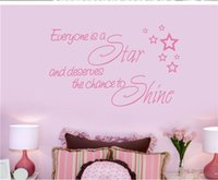 art inspirations - Everyone is a star Marilyn Monroe Quote Wall Stickers Art Home Decal Sticker Wallpaper quotes inspiration