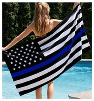 Wholesale Blue Line Flag USA x5 Ft Polyester ROLL OF HONOR EDITION Support Law Enforcement Vivid Color UV Fade Resistant Durable For Indoor Outdoor