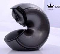 audio plays - Top New Kingone K88 Conch Portable Bluetooth Speaker Super Bass Subwoofer hands free Mic TF card play for mobile phone tablets