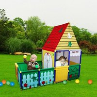 Wholesale New Children Kid Toy tent and swimming Pool Game Play Tent In Outdoor Kids Play Tents Children s House Indoor Game Baby Toys