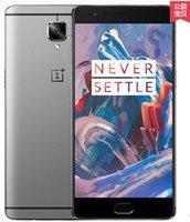 cdma mobile phone smart phone - New Oneplus Three D GB RAM GB ROM One plus Android Snapdragon820 Oneplus3 Three Smart Mobile phone MP16
