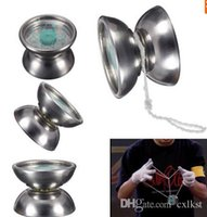 Wholesale Professional Stainless Steel YoYo Ball Bearing String Trick Kids Toy Fun Gift Brand New Good Quality