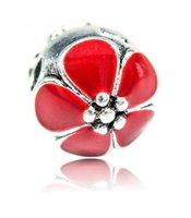 accessories locations - Pandora bracelet accessories Drip flower button safe location Fit European Charms Bracelets Big Hole Loose Beads Jewelry DIY