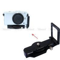 adjustable l bracket - Adjustable L Vertical Quick Release Plate Camera Holder Bracket Grip for Olympus PEN EPL7 EPL6 EPL5 EPL3 EPL2 EPL1 EP5 EP3 EP2