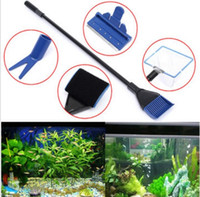 best aquarium supplies - Aquarium Fish Tank Cleaning Brush In Fish Tank Glass Cleaning Set Cleaning Supplies Your Best Choice