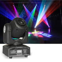 Wholesale Mini Moving Head Light RGBW LED Patterns Stage Lights DMX512 Shapes Automatic Professional Channel Party Disco Show DJ Showing Lighting