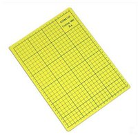 Wholesale Yellow Cutting Mat PVC Durable Cutting Pad A4 self healing Model scale plate tools handmad creative cm cm
