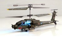 apache remote control helicopters - SYMA S109G Mini CH RC Helicopter Boeing AH Apache Helicopter Gunships Simulation Indoor Radio Remote Control Toys for Gift