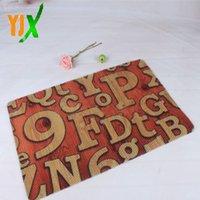 best outdoor mats - Best selling A variety of patterns home and outdoor door mat custom printed floor mat non slip mat