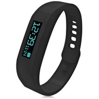 Wholesale SH01 Intelligent OLED Motion Healthy Bracelet Bluetooth Watch with Pedometer Sleep Monitoring Calorie Counter for Android