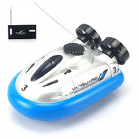 Wholesale Classic Mini Radio Remote Control Hovercraft Hover RC Boats barco de pesca Water Gifts for Children