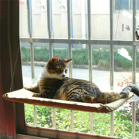 Wholesale New Cat Window Door Bed Cat Hammock Yellow The Original Sunny Seat Window Mounted Cat Window Bed Cloth Plastic