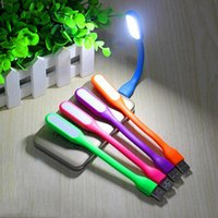 bank asia - Mini Flexible usb led light lamp USB Gadgets For Power bank for PC laptop notebook Computer Led Lamp Bendable Cute