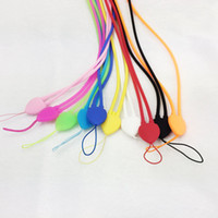 Wholesale 2016 hot Phone Neck Strap Ring Lanyard Hanging Charms Security Badge Chain for Cell Phone MP3 Flash Drives ID Card SJS005