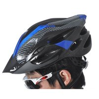 Wholesale 20 Vents Lightweight Cycling Helmet Portable Casco Bicicleta Sports Safety Bike Bicycle Helmet with Visor Carbon Fiber