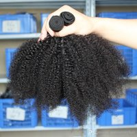 Wholesale Price Brazilian Human Hair Weaves Afro Kinky Curly Malaysian Hair Bundles Mongolian Indian Human Hair Wefts