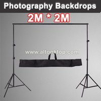 Wholesale CM M Professinal photography photo booth backdrop photo shoot background support frame camera fotografica stands studio bag