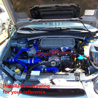 Cheap Intake Pipe Air Intake Pipe Best Blue Universal,all car can use Intercooler silicone pipe