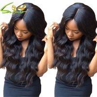 Wholesale Brazilian Full Lace Human Hair Wigs For Black Women Body Wave Lace Front Human Hair Wigs With Baby Hair Glueless Full Lace Wigs