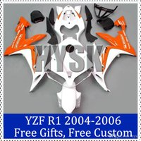 aftermarket bike fairings - Orage white fairing kits for Yamaha Racing bike Fairing Kit YZF R1 YZF R1 Aftermarket motorcycle bodywork