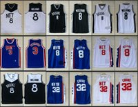 arrival dr - A new arrival Brooklyn Drazen Petrovic Deron Williams Julius Erving DR J retro jersey for mens