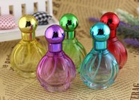 beauty packaging container - 20ml beauty perfume packaging bulk perfume bottles glass spray portable small refillable atomizer bottle container Glass Colorfu