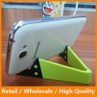 apple ipad support - Universal Mini V Tablet Holder for iPad Kindle Android Stand Support for Xiaomi Tablet Folded Holder for Huawei iPhone Samsung Galaxy Holder