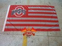 banner background - Ohio State University banner CM polyster United States USA national flag background with Florida University logo