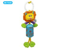best infant strollers - Cheap Retail Baby Infant Soft Animal Handbells Rattles Bed Bell Stroller Developmental Toy for baby best gift
