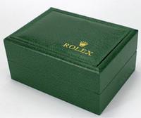 Wholesale Factory Supplier Luxury Watchs Box Green Original Box Watch Box Rolex Watch Box for