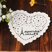 Wholesale Props cosmetics accessories props lace heart cake paper Photo Studio Accessories