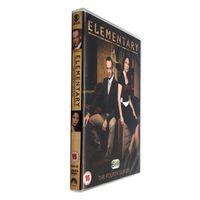Wholesale Elementary Season Complete Fourth Season Four Disc Set DVD Uk Version Region Boxset New kg