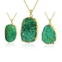Wholesale South America elegant natural stone pendants fashion jewelry