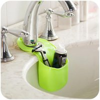 Cheap Sundries Kitchen Sink Best Silicone Eco Friendly Basket Storage