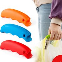 Wholesale Promotion reusable silicone shopping bag handle carrying handle Silicone Shopping Handle Bag Clips Handler Bag Carrying Tools F393