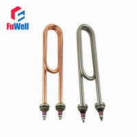 Wholesale Stainless Steel or Red Copper Electric Heaing Component for Machine Steaming Rice V or V Heating Tube for