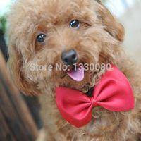 Wholesale Dog neck tie Dog bow tie Cat tie Pet Headdress Bowtie Necktie E5M1 order lt no track