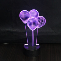 balloon rooms - Romance Fantasy Child d Balloon Lightbox for Bedroom Living Room Decoration Besides Lampara Led Night Lights