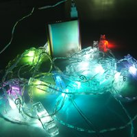 led picture light - Multi Color LED String Lights Photo Clip picture lights usb Powered Perfect for Hanging Pictures Notes