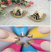 animal restoration - pointed shoes protection shoes worn restoration pointed head hollow metal cover repair parts