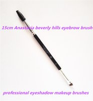 eyebrow shadow - 2016 latest Arrival cm Anastasia beverly hills eyebrow brush brand makeup brushes professional eyeshadow tool free shopping