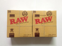 Cheap OCB Cigarette Rolling Papers Smoking RAW Natural Unrefined Rolling Papers 50 booklets 110*50 mm In Stock