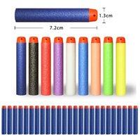 Wholesale 10000pcs Outdoor Play Nerf N strike Elite Rampage Retaliator Series Blasters Refill Clip Darts electric toy gun soft nerf bullet color4141